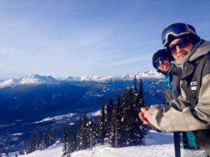 Dylan V Snowboarding